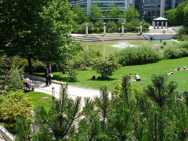 Les espaces verts à Colombes