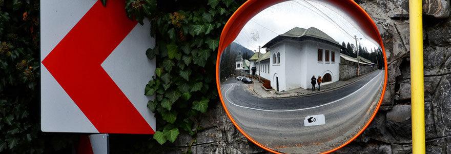 miroirs de circulation